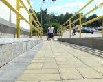 """""""Доступно.UA"""" перевіряє Рівне на доступність для маломобільних людей (ФОТО, ВІДЕО). дмитро щебетюк, рівне, доступність, інвалідність, інспекція, outdoor, sky, person, platform. A person sitting at a train station"""