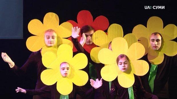 """Театральний фестиваль """"Веселка"""" втринадцяте відбувся в Сумах. суми, вистава, суспільство, театральний фестиваль веселка, інвалідність"""