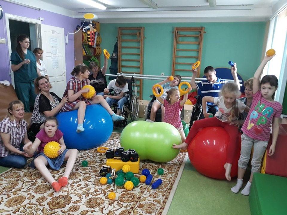 З початку року в районі працює Центр комплексної реабілітації для осіб з інвалідністю