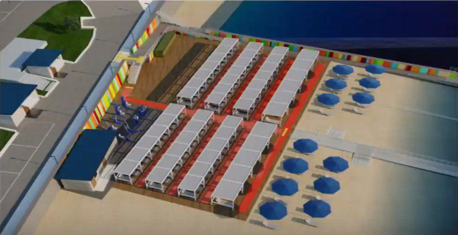 Фонтанский пляж для инвалидов будут реконструировать до осени. одесса, инвалидность, пляж, реконструкція, совещание, screenshot