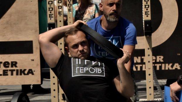 """У Львові пройшли """"Ігри героїв"""" для ветеранів та людей з інвалідністю: хто став переможцем (ВІДЕО)"""