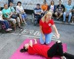 Нікопольський район: людей з інвалідністю навчали діям у екстрених випадках. дснс, никополь, екскурсія, навчання, інвалідність