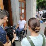 Дмитро Щебетюк перевірив Кропивницький на доступність