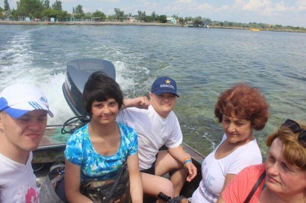 Діти та молодь з особливими потребами провели незабутній відпочинок на морі. луцьк, відпочинок, море, прес-конференція, інвалідність