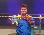 Вінничанка Мар'яна Шевчук — рекордсменка світу з пауерліфтингу. мар'яна шевчук, змагання, золота медаль, пауерліфтинг, чемпіонат світу