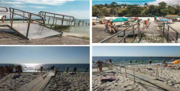 Фонтанский пляж для инвалидов будут реконструировать до осени. одесса, инвалидность, пляж, реконструкція, совещание