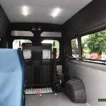 Світлина. Тульчинська громада першою в області отримала спеціалізований автомобіль для людей на візках. Безбар'ерність, інвалідність, соціальне таксі, перевезення, автомобіль, Тульчинська громада
