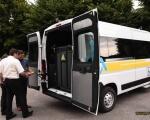 Тульчинська громада першою в області отримала спеціалізований автомобіль для людей на візках (ФОТО). тульчинська громада, автомобіль, перевезення, соціальне таксі, інвалідність
