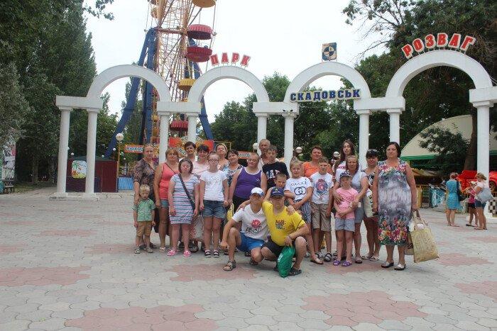 Діти та молодь з особливими потребами провели незабутній відпочинок на морі (ФОТО)