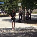 У Херсоні пішохідні переходи адаптують для незрячих і слабозорих людей (ВІДЕО)