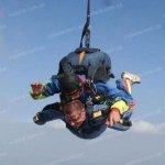 Нескорений і незламний. Криворізький ветеран АТО з інвалідністю підкорив небо (ФОТО)