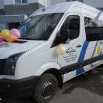 Николаевцам рассказали о «странных» микроавтобусах с надписью «Соціальне обслуговування»
