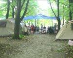 У лісі під Вінницею облаштували наметовий табір для молоді на візках (ВІДЕО). вінниця, наметовий табір, соціалізація, інвалідний візок, інвалідність