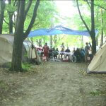 У лісі під Вінницею облаштували наметовий табір для молоді на візках (ВІДЕО)