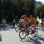 Світлина. У Івано-Франківську розповіли про міжнародний велопробіг для незрячих (ФОТОРЕПОРТАЖ). Спорт, незрячий, Івано-Франківськ, велопробіг, прес-брифінг, I see! I can! I will!