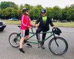 Двоколісна інклюзія: унікальний велопробіг пройшов на Харківщині (ФОТО). бачу можу допоможу, харківщина, велопробіг, незрячий, інклюзія