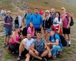 У День Незалежності України, 24 серпня, благодійники і волонтери з Виноградова здійснили мрію Надії Танчинець з Виноградова: вона побачила країну з найвищої її карпатської вершини – гори Говерли. говерла, надія танчинець, мрія, сходження, інвалідний візок