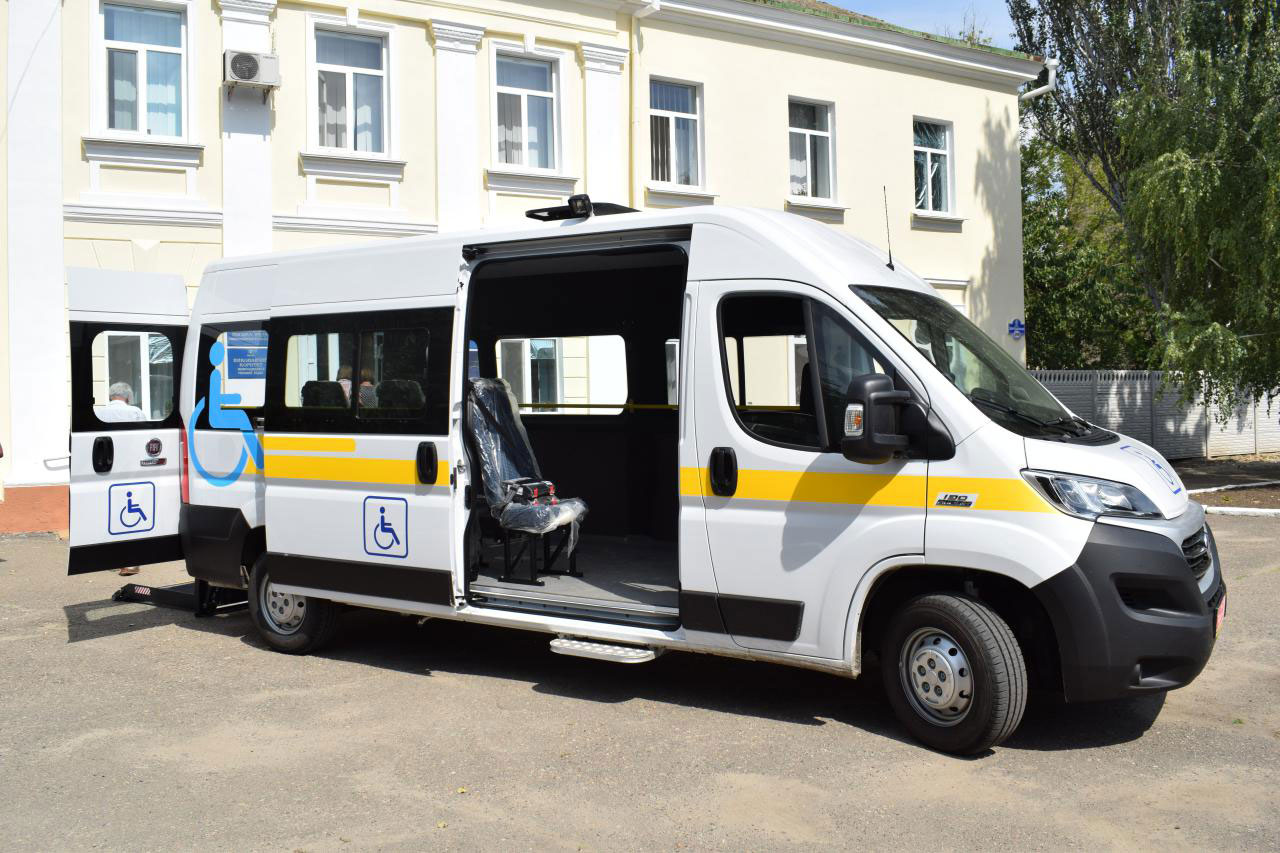 На Новоодещині придбано спеціально обладнаний автомобіль для потреб осіб з інвалідністю