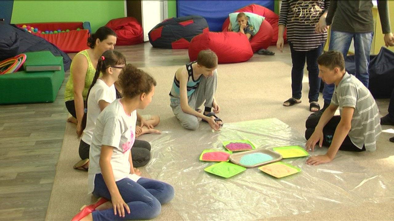 У Вінниці стартував інклюзивний табір для дітей із порушеннями розвитку (ВІДЕО)