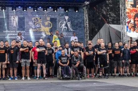 На «Іграх героїв» боєць з Вінниччини зайняв третє місце у категорії «атлети на візках». ігри героїв, віктор бернов, київ, змагання, інвалідність
