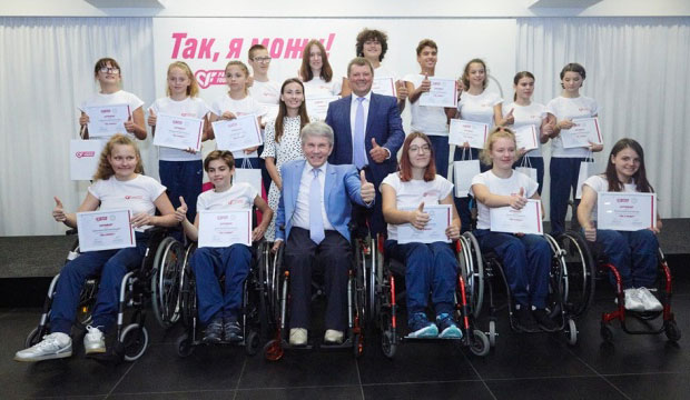 Так, вони можуть!. parimatch foundation, дитина-спортсмен, програма так я можу!, стипендія, інвалідність