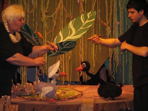 """Инклюзия в действии: театр кукол работает над постановкой """"Маугли"""". маугли, николаев, инклюзия, спектакль, театр кукол"""