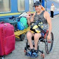 Особливі люди мріють про світ без обмежень. доступність, подорожування, суспільство, інвалідний візок, інвалідність