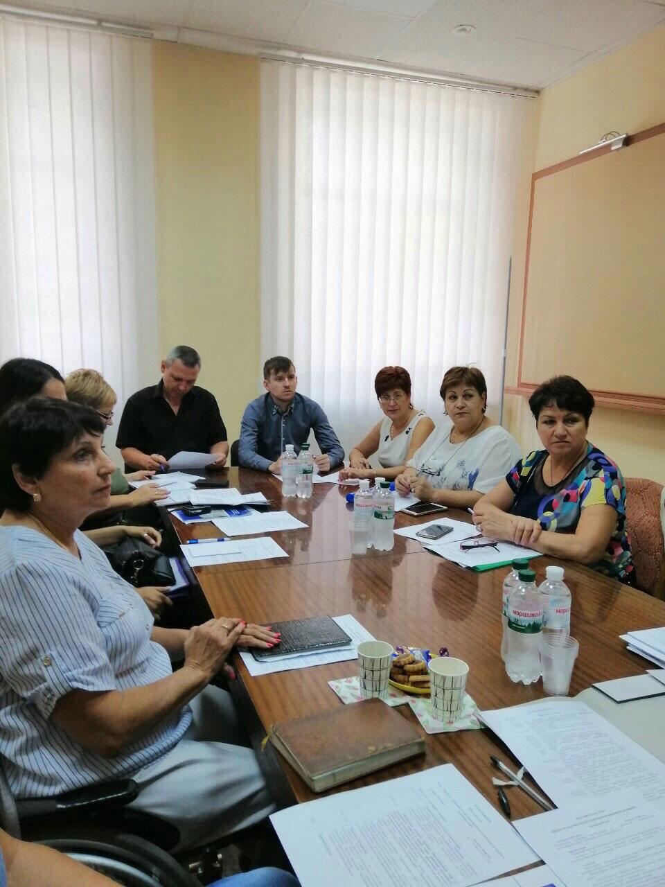 У Миколаєві обговорили права та можливості осіб з інвалідністю