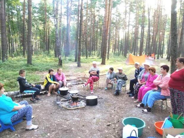 Відпочинок в наметовому таборі подарував безліч приємних вражень. біле озеро, вараш, асоціація надія, наметовий табір, інвалідність