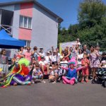 У Луцьку вперше відбувся «Марафон на колесах - 2019» для дітей з порушеннями опорно-рухового апарату (ФОТО)