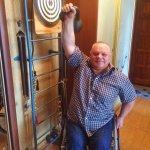 Світлина. Чоловік, який більше 30 років на візку, був чемпіоном 13 років з пауерліфтингу. Інтерв'ю, інвалідність, інвалідний візок, пауерліфтинг, потерпілий на виробництві, Володимир Карел