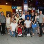 """Світлина. Команда """"Доступно.UA"""" перевіряла Білу Церкву на доступність для людей з інвалідністю. Безбар'ерність, інвалідність, доступність, перевірка, Дмитро Щебетюк, Біла Церква"""