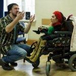 Світлина. Творчество на равных. Как при поддержке ЕС в Запорожье открывают студии для людей с инвалидностью. Статті, инвалидность, проект, Запорожье, Марианна Смбатян, программа Креативная Европа