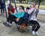 У Полтаві відкрили дитячий інклюзивний майданчик (ФОТО). полтава, проект, інвалідність, інклюзивний майданчик, інклюзія