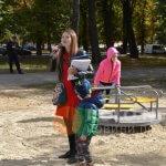 Світлина. У Полтаві відкрили дитячий інклюзивний майданчик. Новини, інвалідність, інклюзія, проект, Полтава, інклюзивний майданчик
