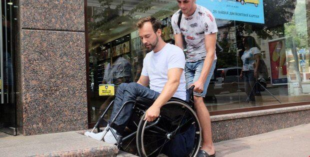 Громадські активісти оприлюднили відео перевірки Кропивницький на доступність. дмитро щебетюк, кропивницький, мала виска, доступність, перевірка
