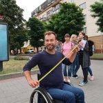 """Команда """"Доступно.UA"""" перевіряла Білу Церкву на доступність для людей з інвалідністю (ФОТО)"""