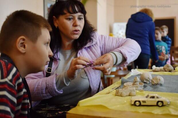 Путями предков. Гончарное ремесло для особенных детей. краматорськ, гончарная мастерская, инклюзия, проект, социальная адаптация