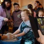 Світлина. Путями предков. Гончарное ремесло для особенных детей. Новини, проект, инклюзия, Краматорськ, социальная адаптация, гончарная мастерская