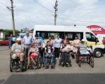 Приморська територіальна громада отримала обладнаний для перевезення осіб з інвалідністю автомобіль (ФОТО). приморська отг, автомобіль, служба перевезення, транспортний засіб, інвалідність