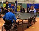 Особые соревнования по теннису прошли в Одессе (ВИДЕО). одесса, инвалидная коляска, соревнование, спортсмен, теннис