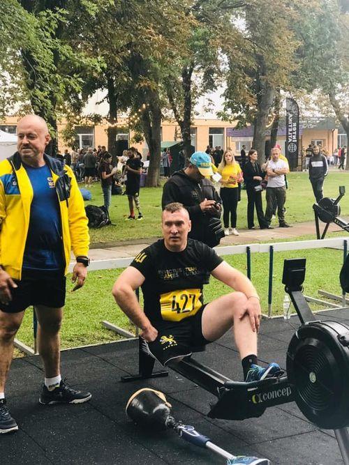 «Спочатку його записували 200-им»: травмований атовець із Черкас схуд на 30 кг і хоче потрапити у паралімпійську збірну. сергій прядка, атовець, ветеран, змагання, протез