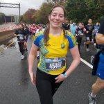 Ветеранка АТО у протезі пробігла марафон з 10-ти кілометрів