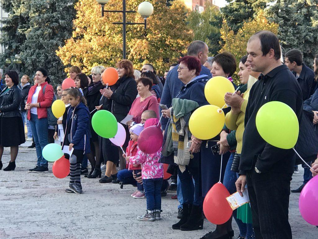 У Полтаві вперше організували фестиваль жестової мови (ФОТО)