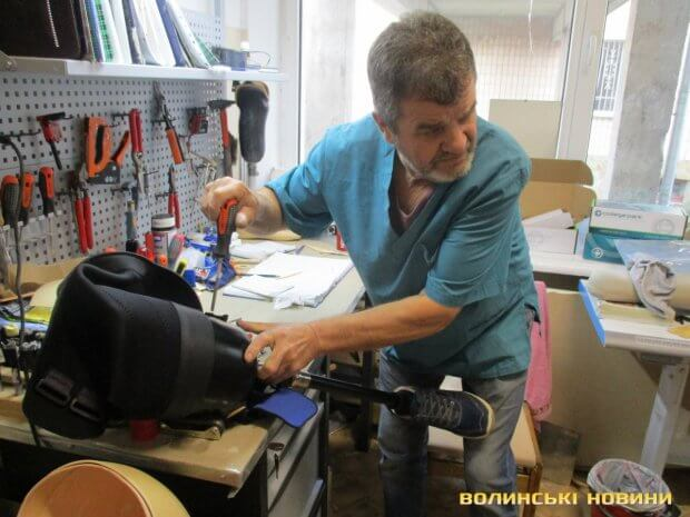 На Волині безплатно виготовляють протези. ковель, тов без обмежень, протез, протезування, інвалідність