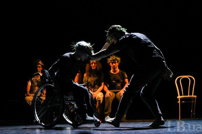 Театр для усіх: у пошуках Золотого руна. британська рада, вистава аргонавти, проект unlimited: making the right moves, театр, інвалідність