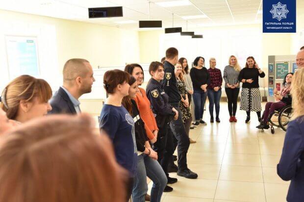 Патрульні Чернівців стали учасниками тренінгу Inclusive Friendly. inclusive friendly, чернівці, патрульний, тренинг, інвалідність