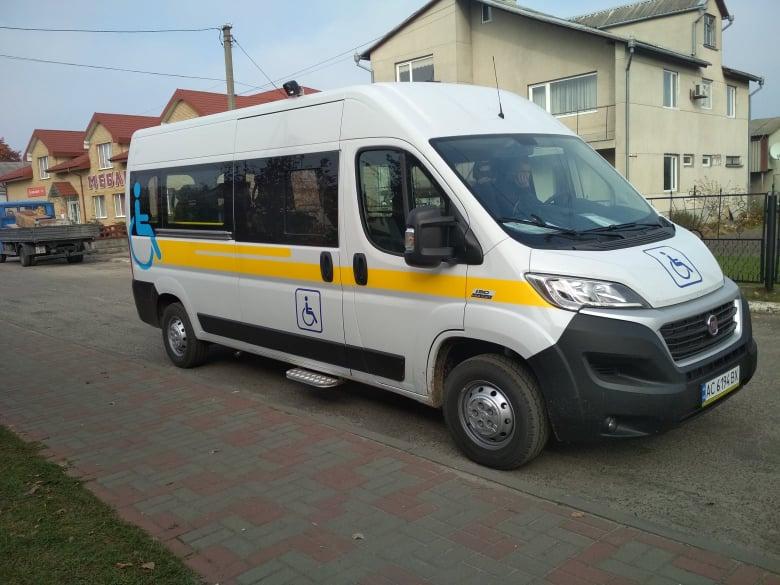 У Любешівській ОТГ працює соціальне таксі