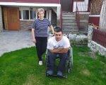 Після падіння і травми – не зневірився. назар вербовецький, пандус, травма хребта, трагедія, інвалідний візок