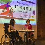 «Ніколи не здавайся». У Франківську презентували проект про людей з інвалідністю (ФОТО)